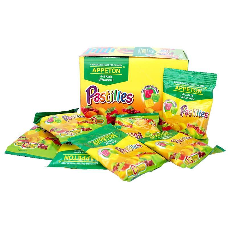 Appeton A-Z Vitamin C Pastilles 5s x 40 Packets