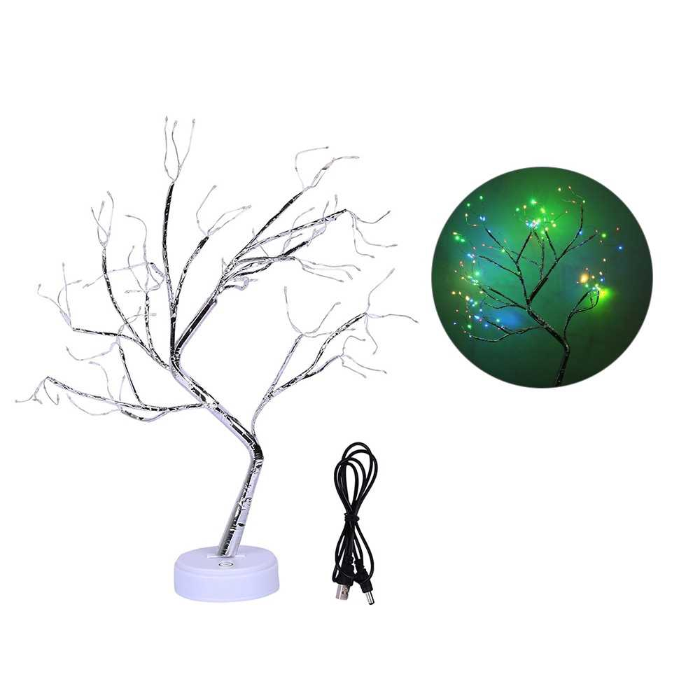 2 Impetus Supply Mode Energy Saving Home Decoration Small Night Lamp 108 Bulbs Emulational Tree Light With Copper Wire