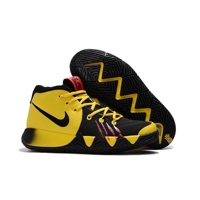 aa8e1ca01467 Nike Kyrie 4  Mamba Mentality  Tour Yellow Black