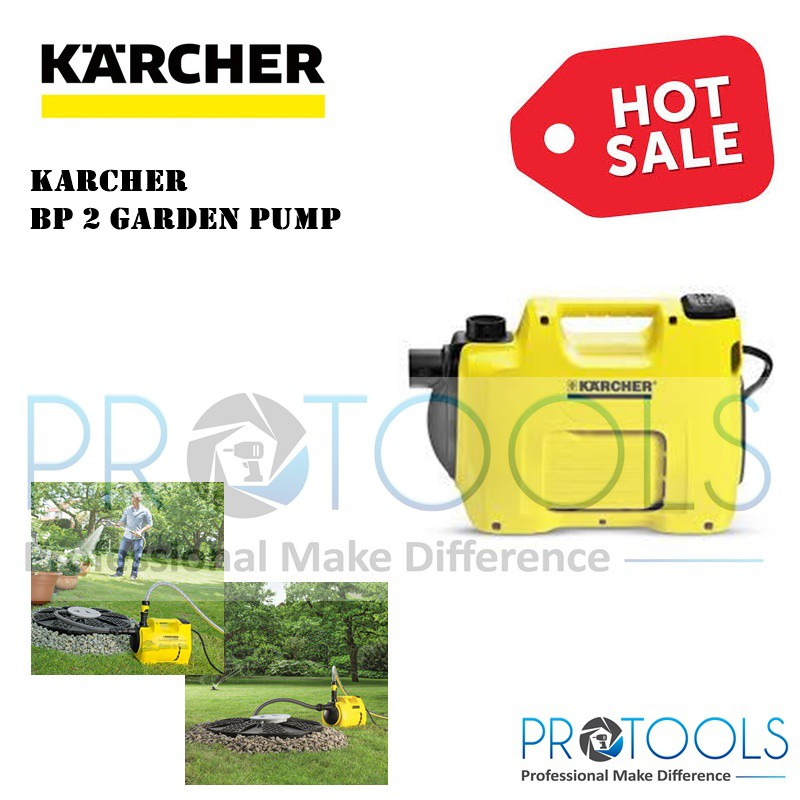 KARCHER GARDEN PUMP BP2 GARDEN - 1 year warranty ( sedut air)