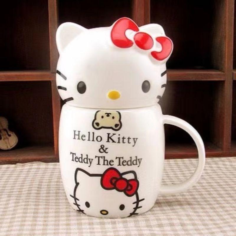(READY STOCK) Cute Kitty Ceramic Cup (350ml)