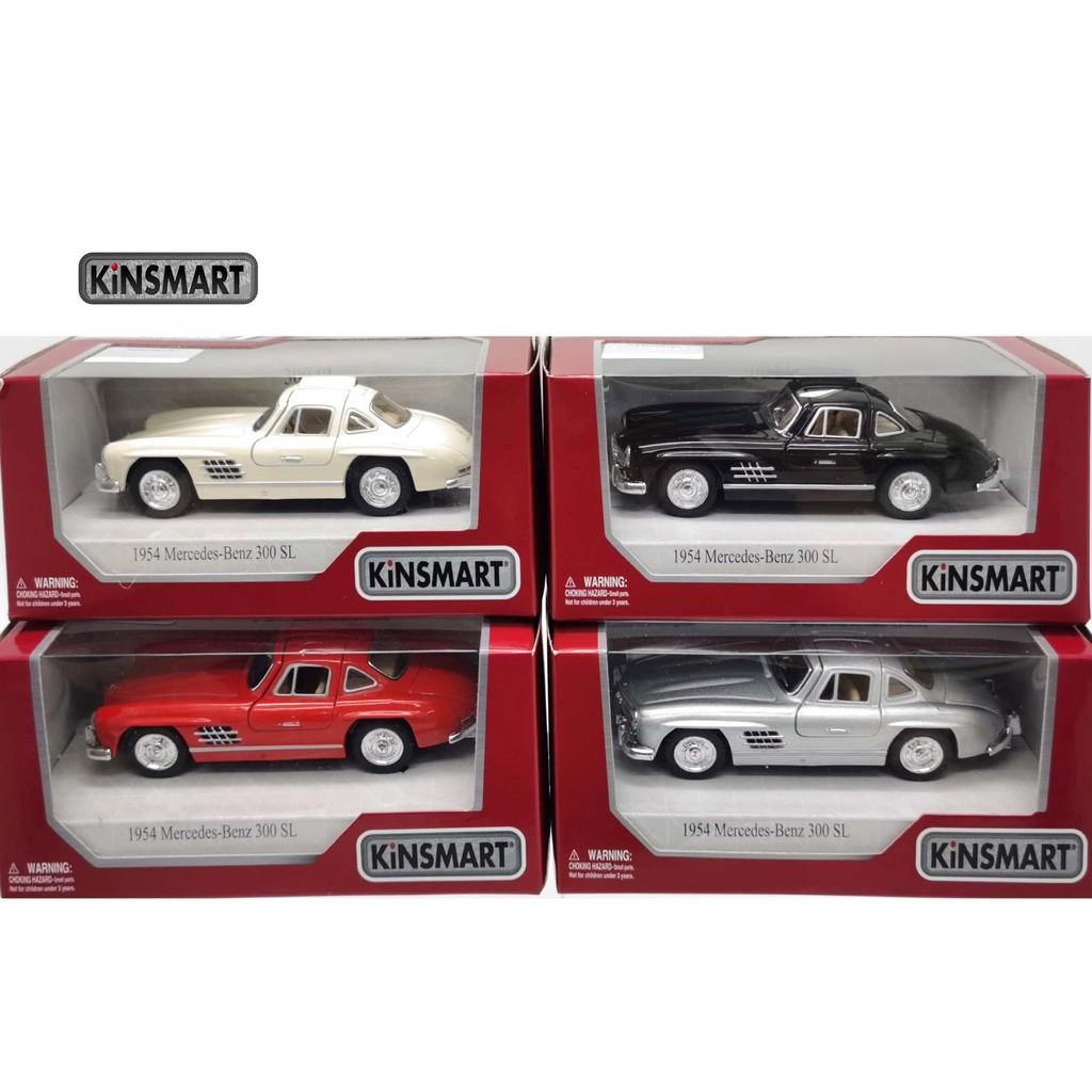 KINSMART 1:32-1:36 METAL DIE CAST 1954 MERCEDES-BENZ 300 SL CAR MODEL COLLECTION KT5346W