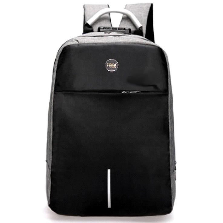 FGE 338 SAMEL BUSINESS CODE LOCK LAPTOP BAG WITH USB PORT & EARPHONE HOLE