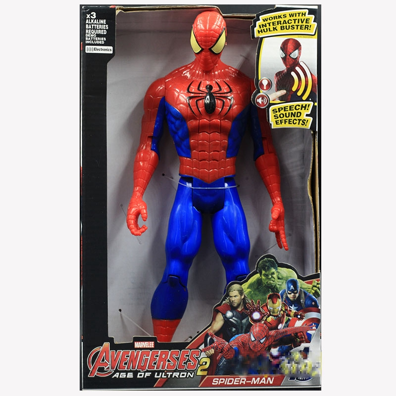 The Avengers 12 inch EndGame Figures Toy Hero Series Acoustooptic Gifts Kids Toy