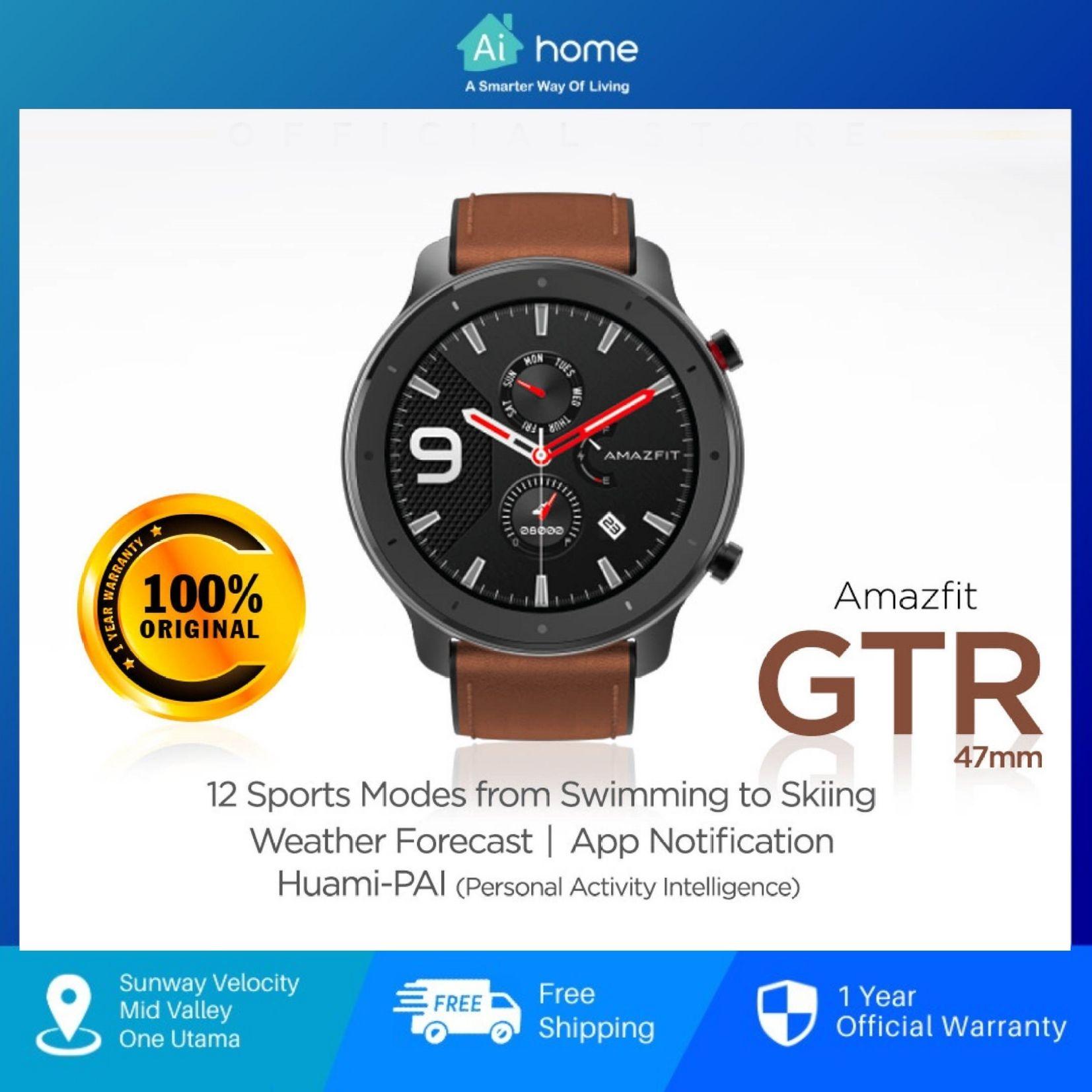 HUAMI AMAZFIT GTR 47mm-A1902 (Aluminium Alloy) [ Smart Watch ] [ Ai Home ]