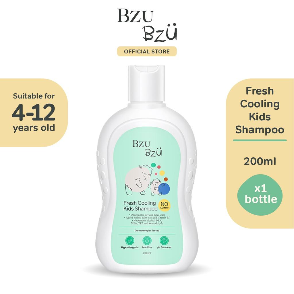 BZU BZU Fresh Cooling Kids Shampoo (200ml)
