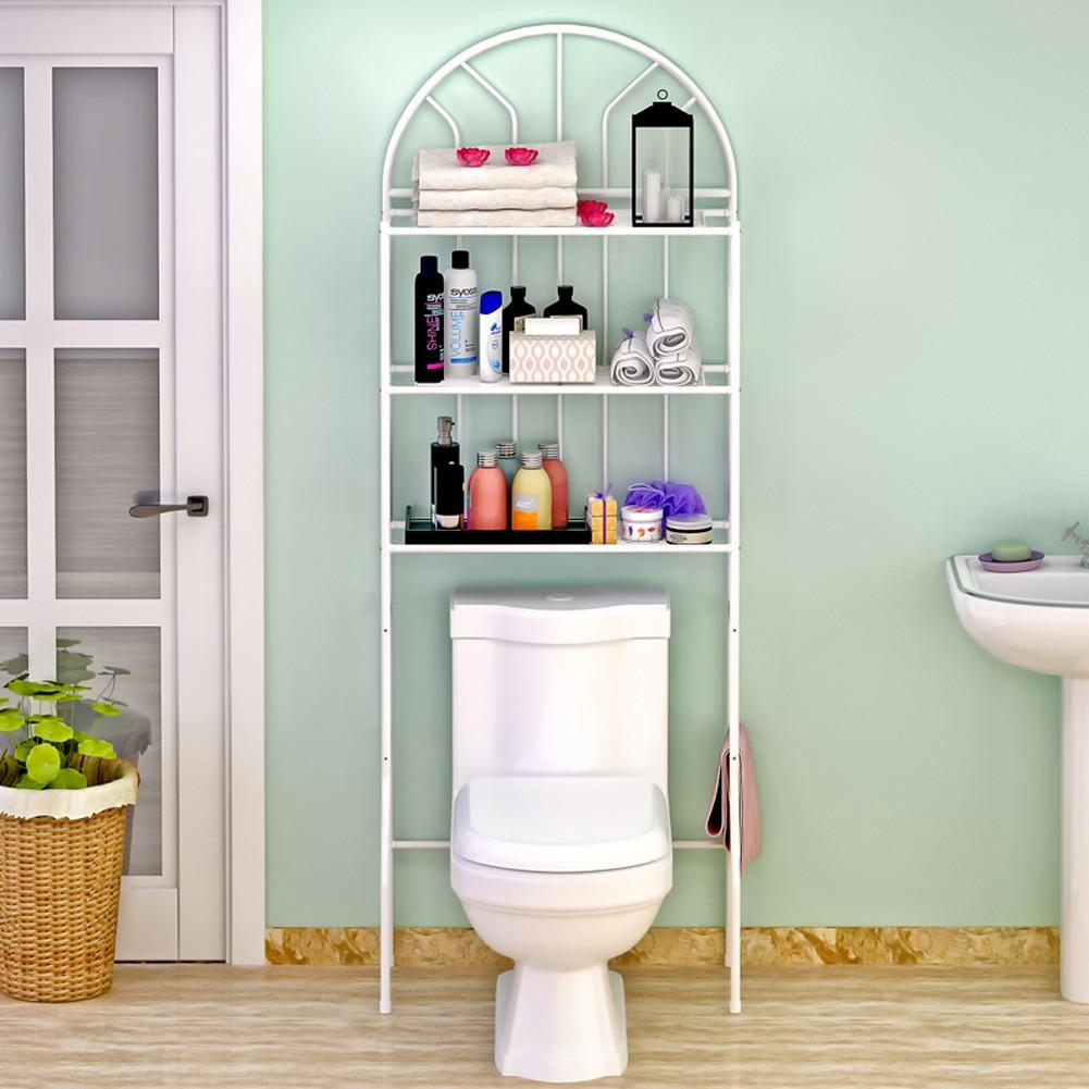 3 Shelf Bathroom Space Saver Towel Storage Rack Organizer Over The