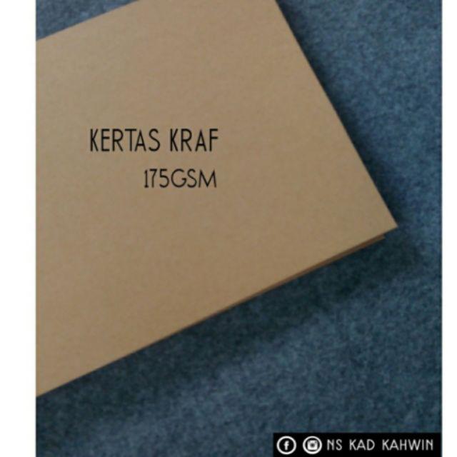 400pcs Kertas Kraft 175gsm Shopee Malaysia