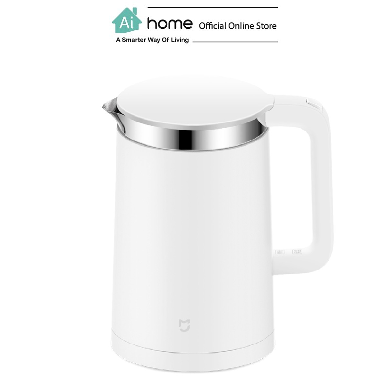 XIAOMI MIJIA Smart Electric Water Kettle 1.5L (White) with Apps Control with 1 Year Malaysia Warranty [ Ai Home ]