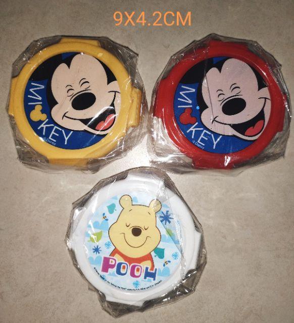♥ mickey/pooh lock&lock container 💯👍