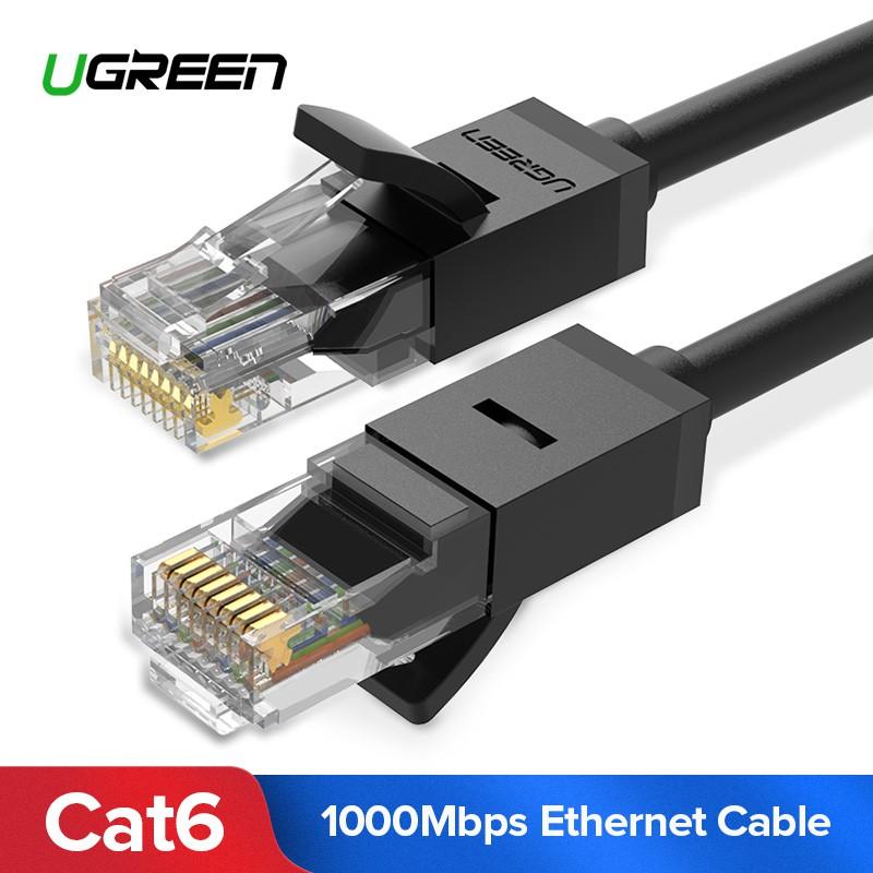 30m 100ft CAT6 Premium Ethernet Network Flat Cable LAN UTP 1000MB//S Gigabit RJ45