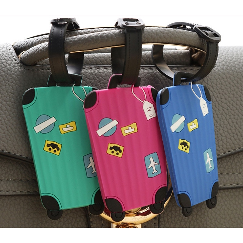 Snail Pattern Cruise Luggage Tag For Suitcase Bag Accessories 2 Pack Luggage Tags