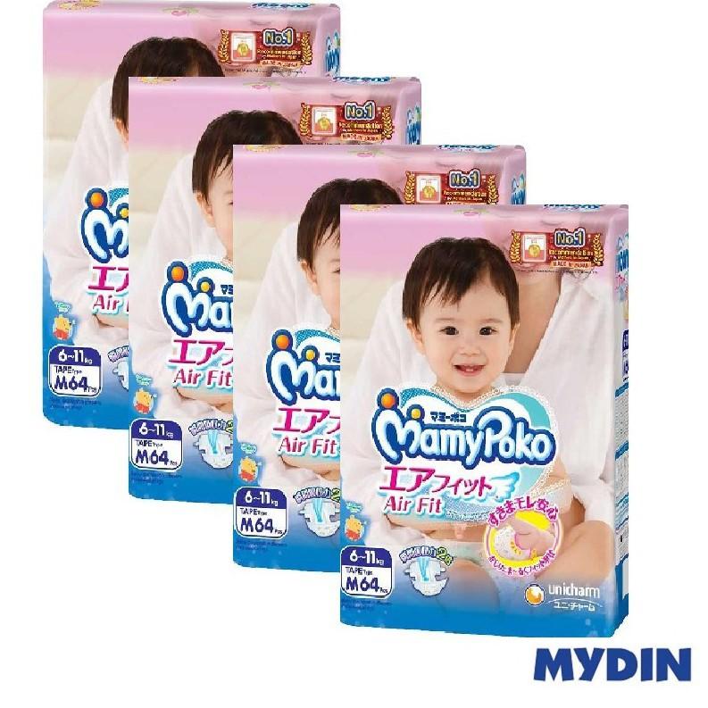 Mamypoko Open Air Fit M64 x 4 Packs