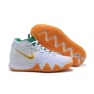 newest 814f5 e247d Nike Kyrie 4 White/Metallic Gold-Green   Shopee Malaysia