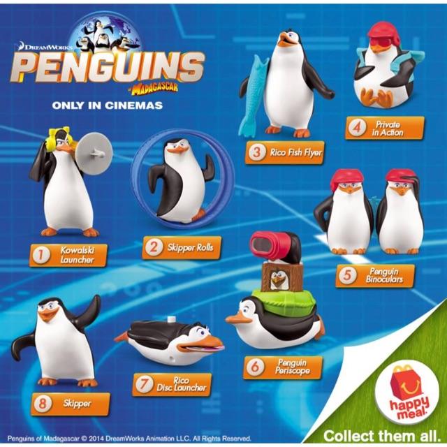 Mcdonald S Penguins Of Madagascar 2014 Shopee Malaysia