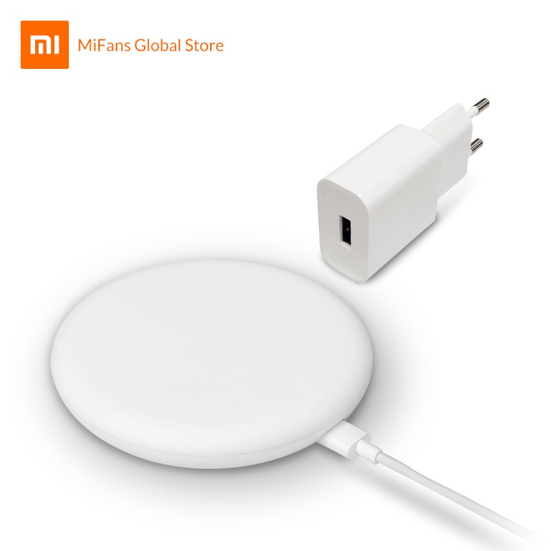 Xiaomi Mi 20W Wireless Fast Charger With 27W Adapter Global Version Qi  Charging Standard Ultra-quiet