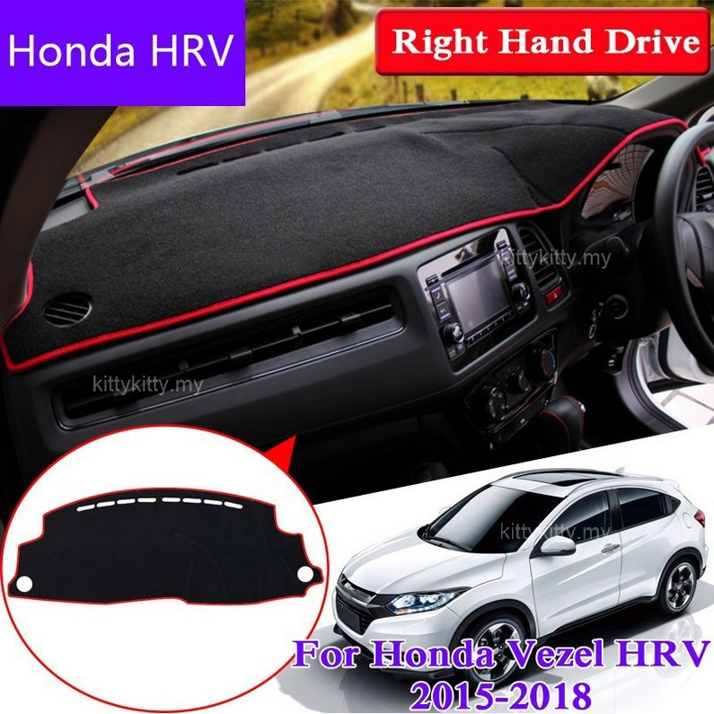 Quality In Dashboard Mat Original Factory Shape Pad Protection Cover Carpet Dashmat Special Model For Honda Xr-v Vezel H-rv Excellent