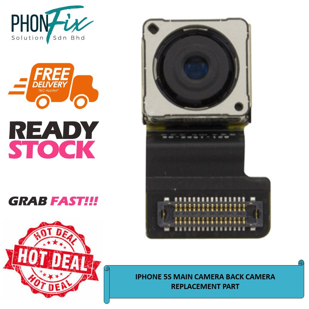 IPHONE 5S MAIN CAMERA BACK CAMERA REPLACEMENT PART