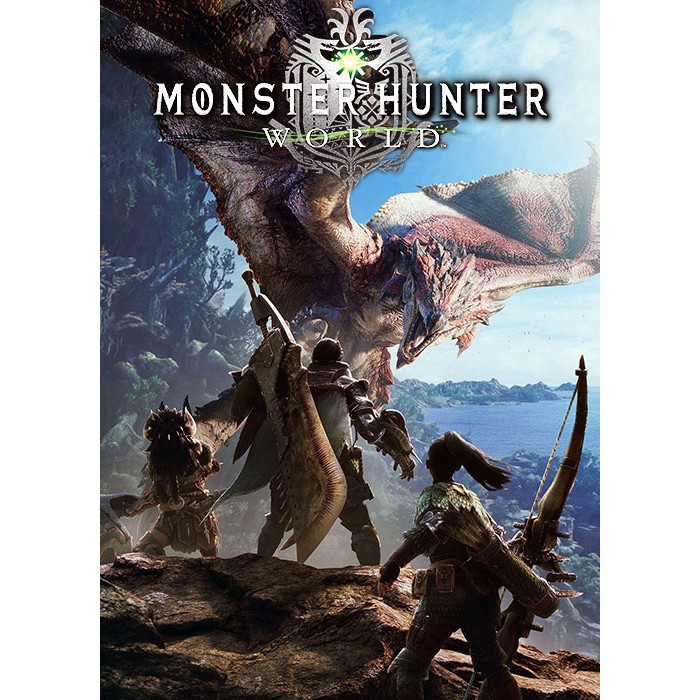 Monster Hunter World Offline Pc Games With Cd Dvd Shopee Malaysia