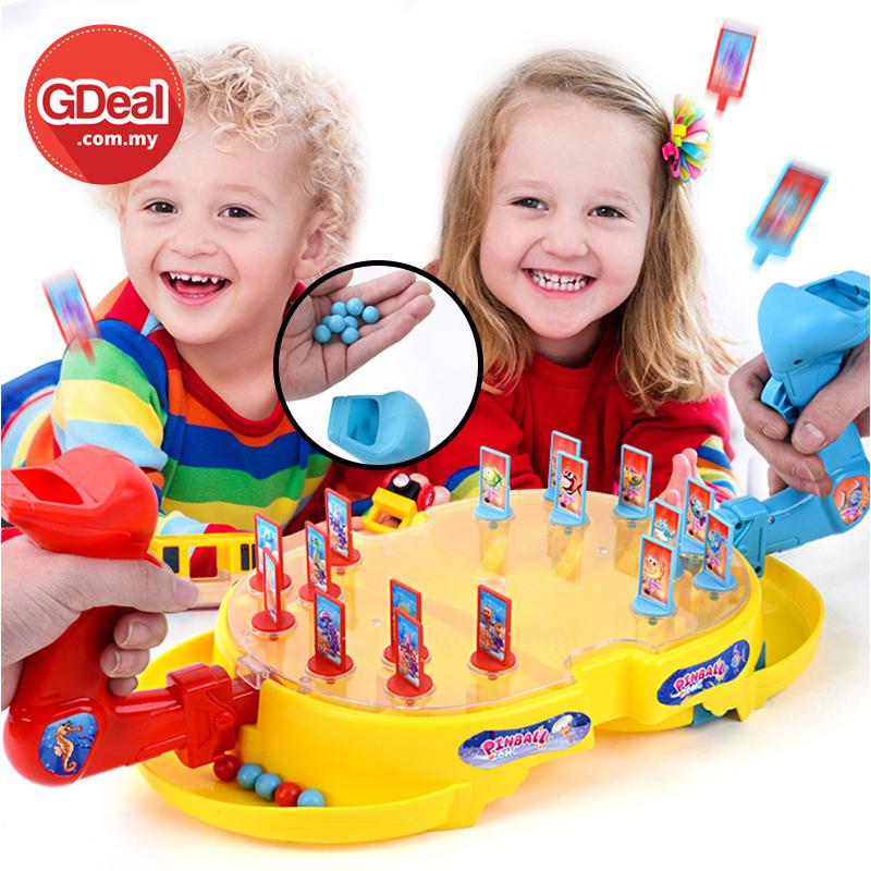 GDeal Play Pinball Submarine Sea Battle For Children Puzzle Board Game Toy Permainan Kanak Kanak