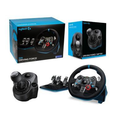 LOGITECH G29 Driving Force Racing Wheel + LOGITECH G29 Driving Force Shifter