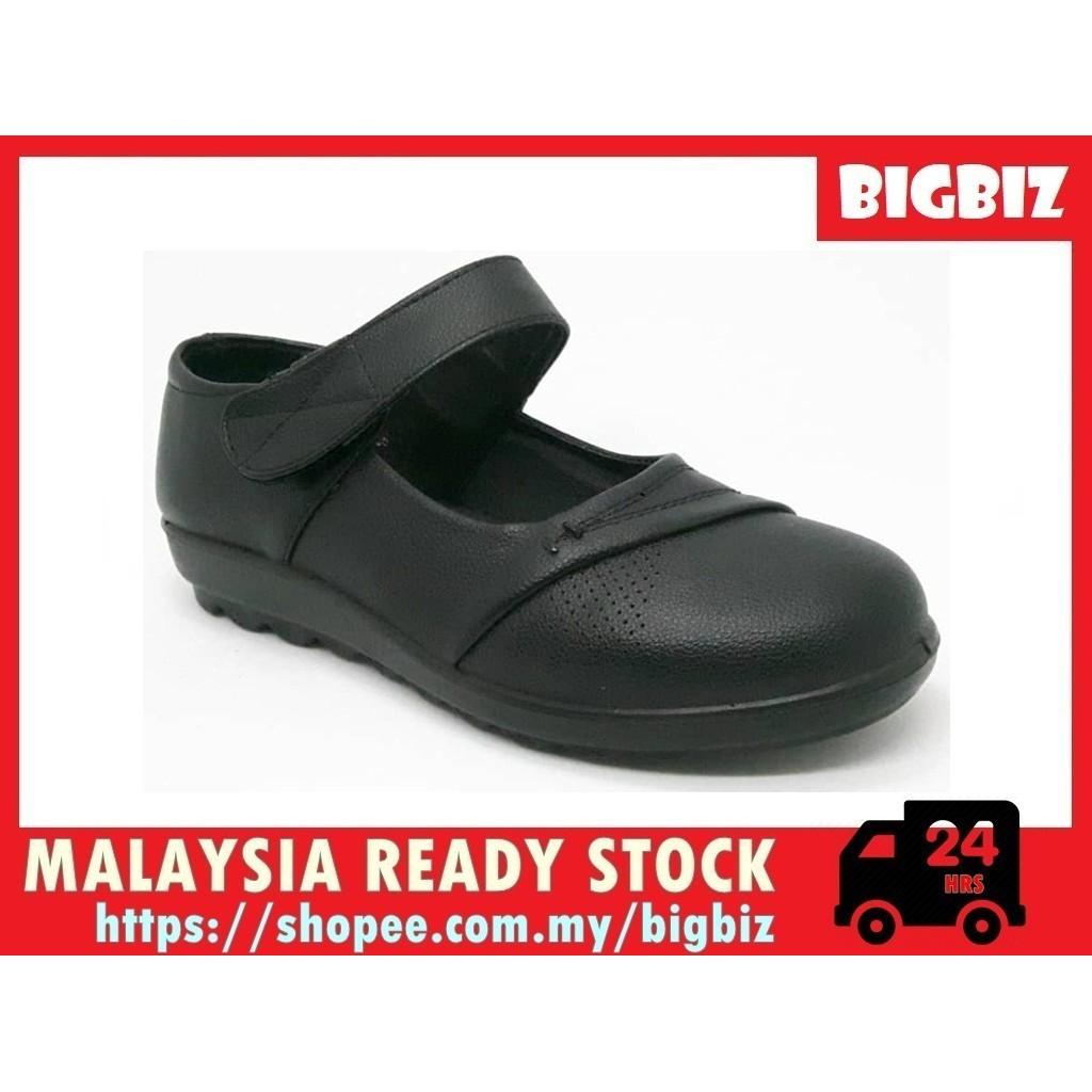 Malaysia Ready Stock | Black Shoe | School's Shoe | Strappy | Lady Shoe