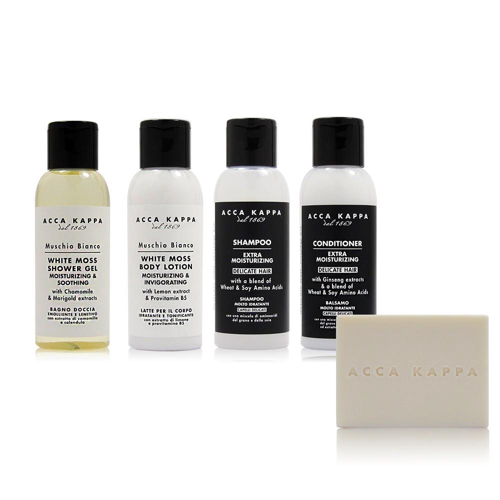 Five Box Doccia.Acca Kappa White Musk Fragrance Travel Five Set No Box