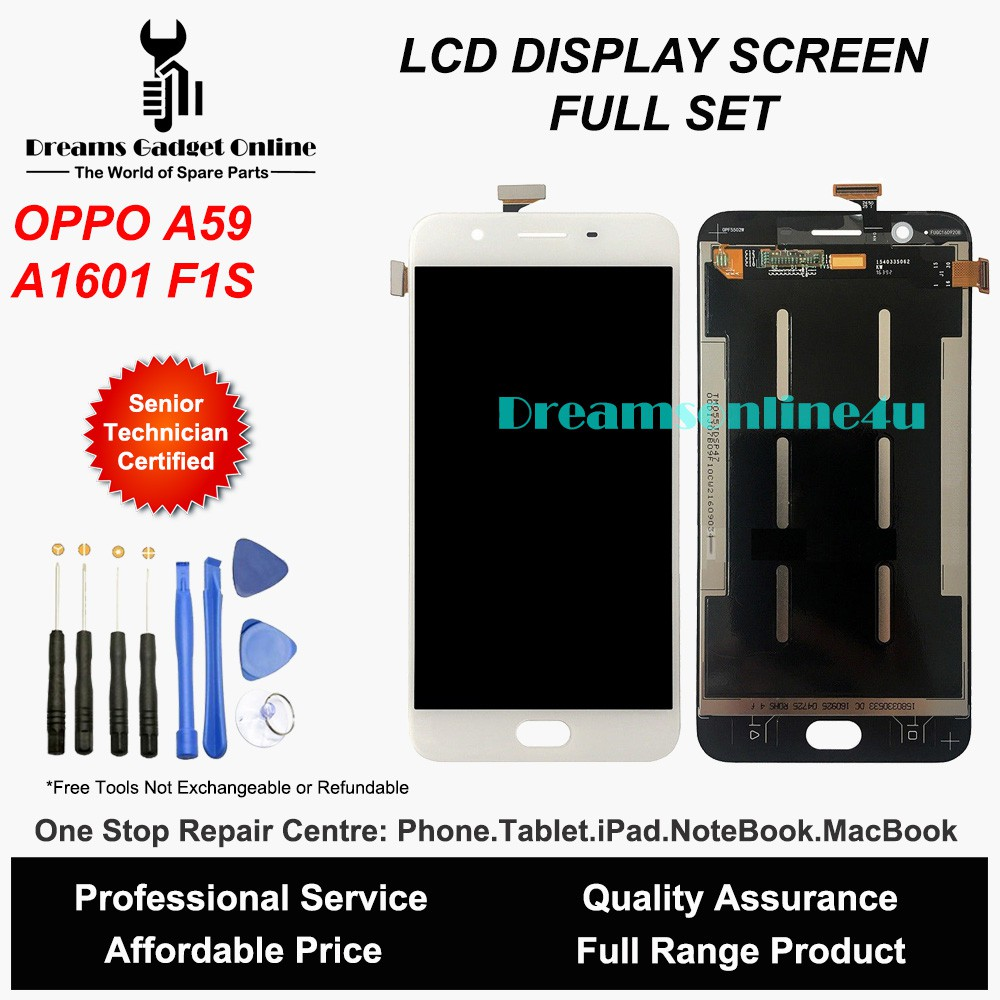Replacement LCD Touch Screen Digitizer for OPPO F1S A1601 A59 Full Set