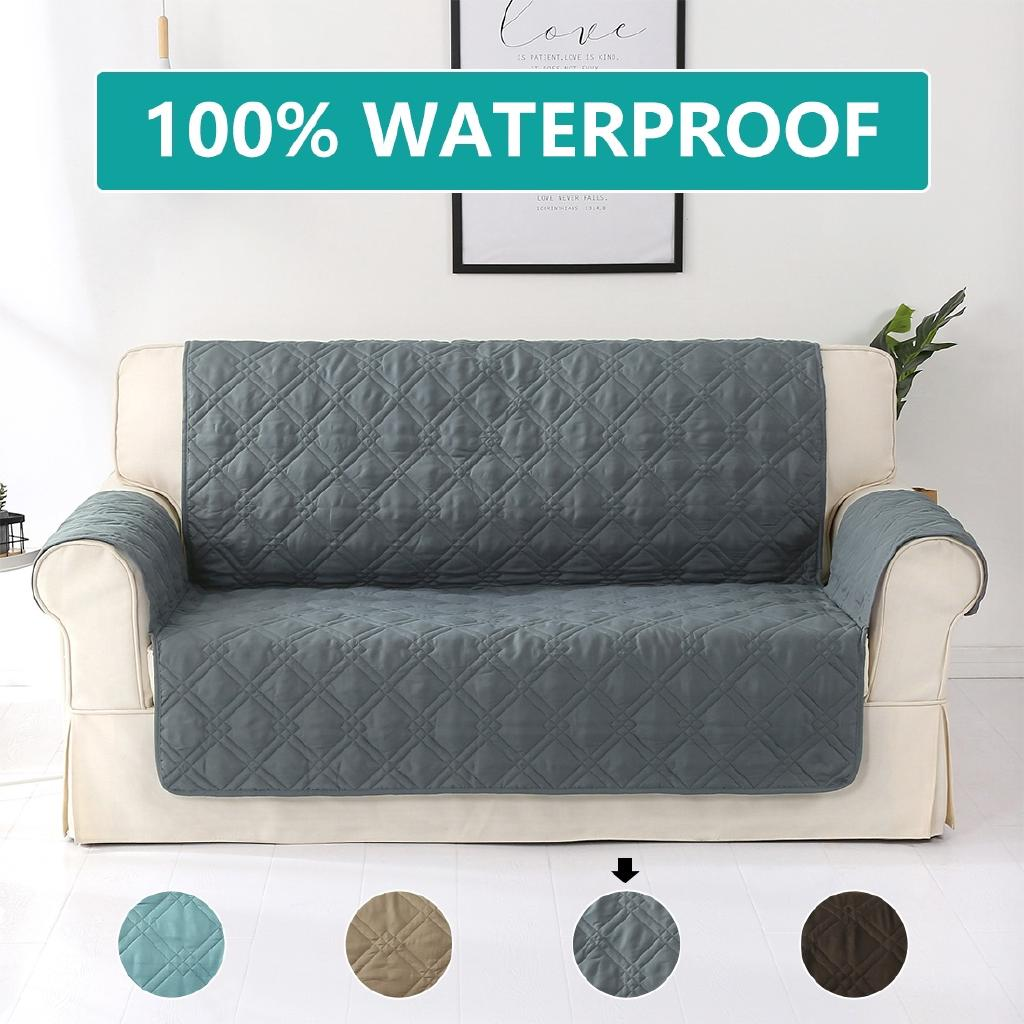 Fine Sofa Cover 100 Waterproof Protector Seat Slipcovers Place Non Slip Pabps2019 Chair Design Images Pabps2019Com