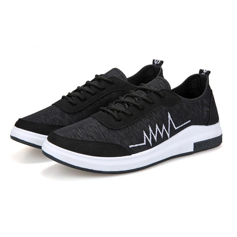 New Fshion รองเท้าผ้าใบ รองเท้าผ้าใบผู้ชาย รองเท้าแฟชั่