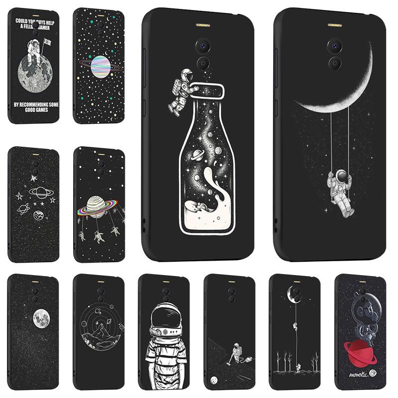 Black Phone Case Soft Cover Casing For Meizu M6 Note Meilan Note 6 Meizu  Note 6 5 5 inch