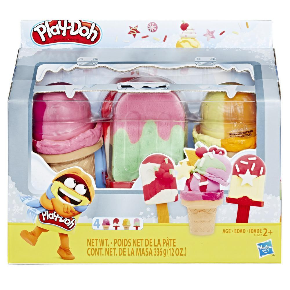 Play-Doh Ice Pops N' Cones Freezer Themed Playset