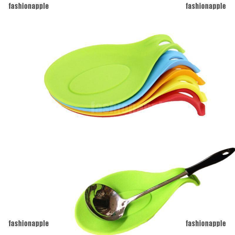 Pp Spoon Rest Utensil Spatula Holder Heat Resistant