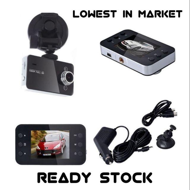 1080P HD LCD Dual LED Car Dash Camera Video DVR Cam Recorder Night