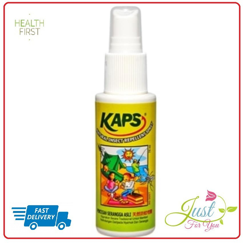 KAPS NATURAL INSECT REPELLENT SPRAY 75 ML