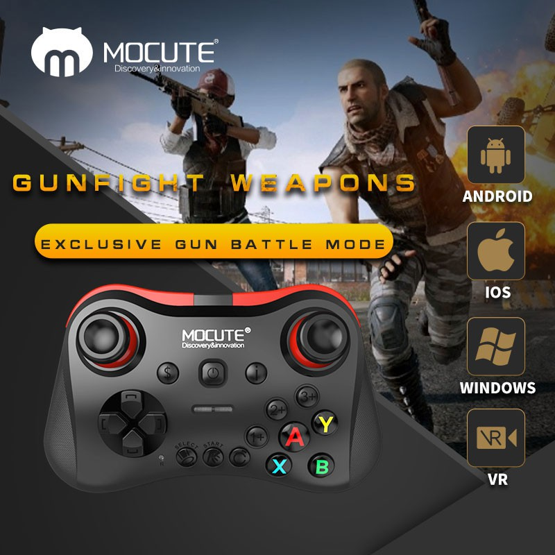 MOCUTE 058 Bluetooth Gamepad Wireless Joystick Consoles for IOS Android PUBG | Shopee Malaysia