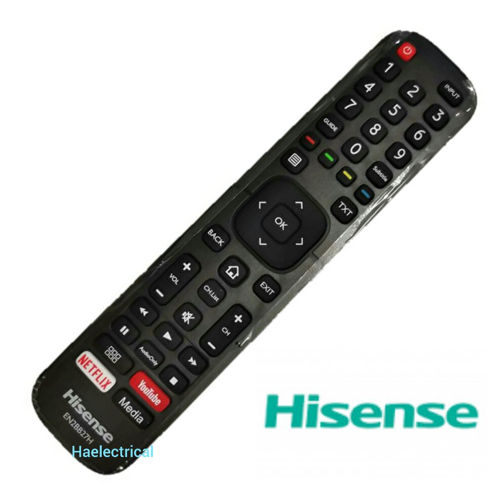 Hisense tv remote control with smart
