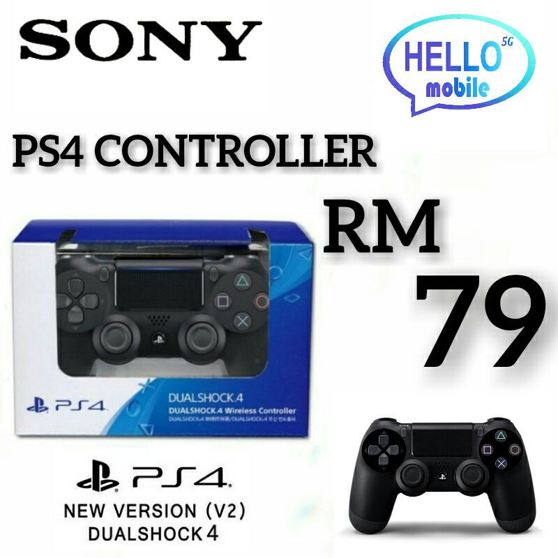 SONY PS4 CONTROLLER WIRELESS V2/ DUALSHOCK4 / DS4  NEW [GLOBAL VERSION]
