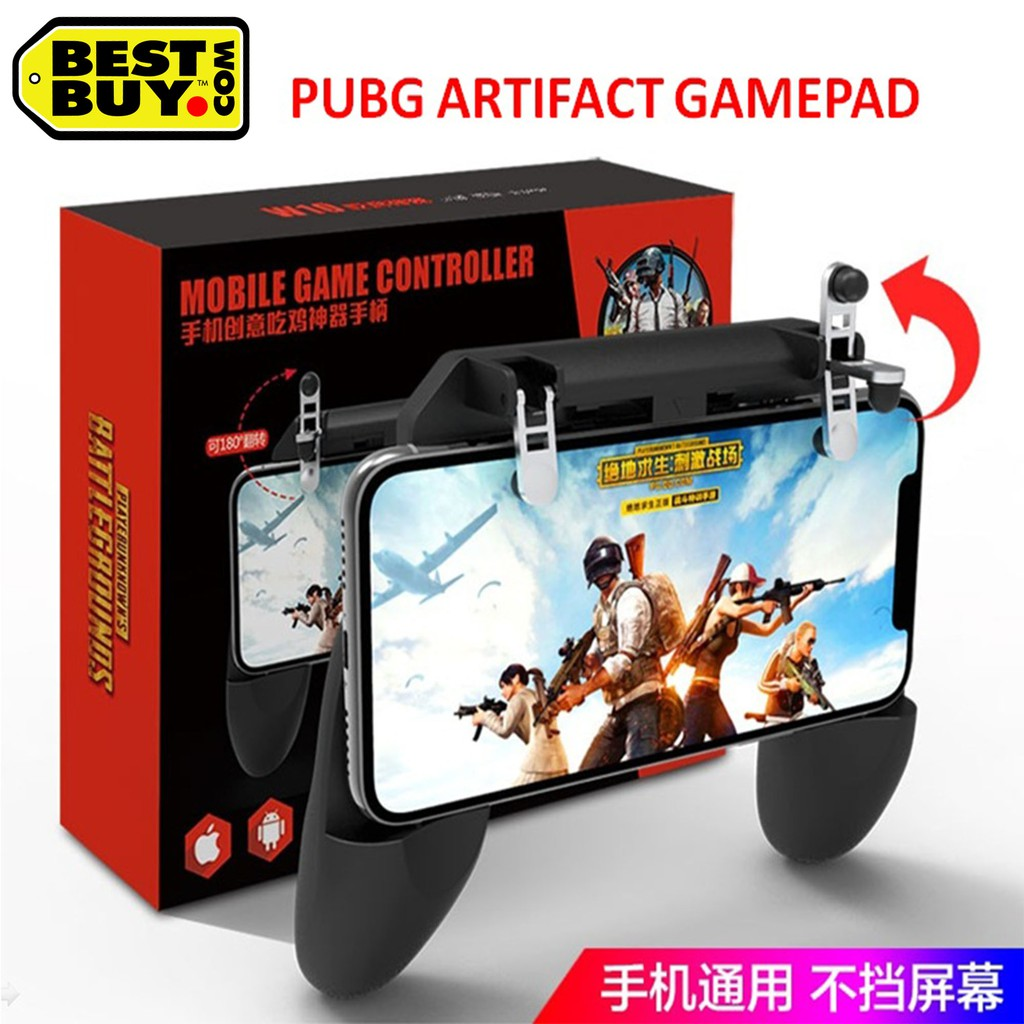 Malaysia Stock S10 Joysticks Gamepad Pubg Trigger Button Aim Shooter