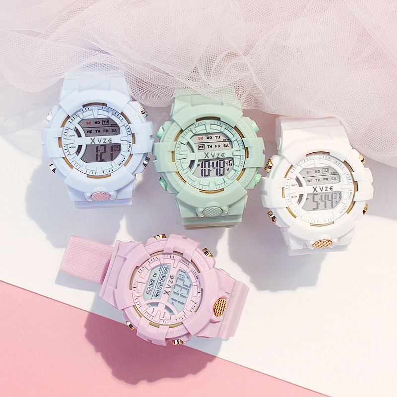 Jam Tangan Wanita Sport Digital Watches Ladies Female Student Watch W00137
