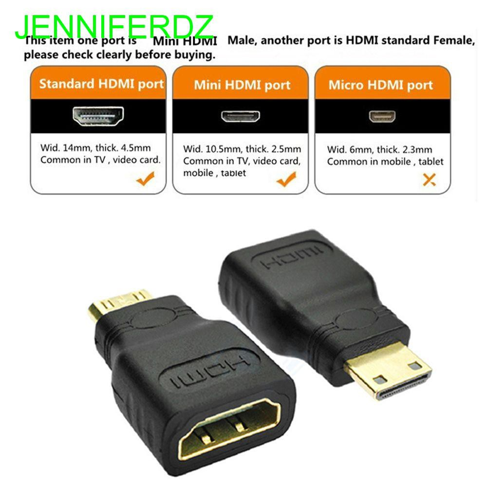 Mini HDMI Male to HDMI Female Adapter Connector For HDTV Android TV Box Tablet