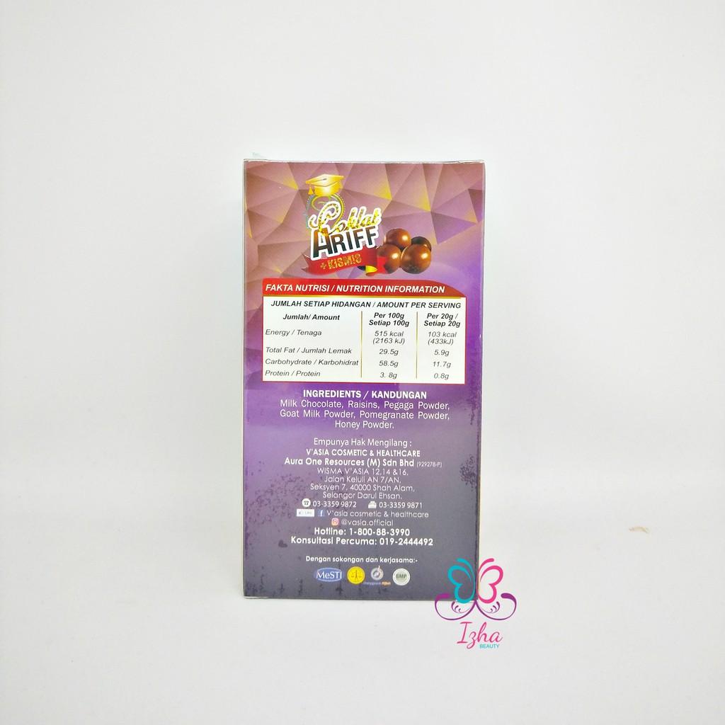 [V'ASIA] Coklat Ariff + Kismis - 150g