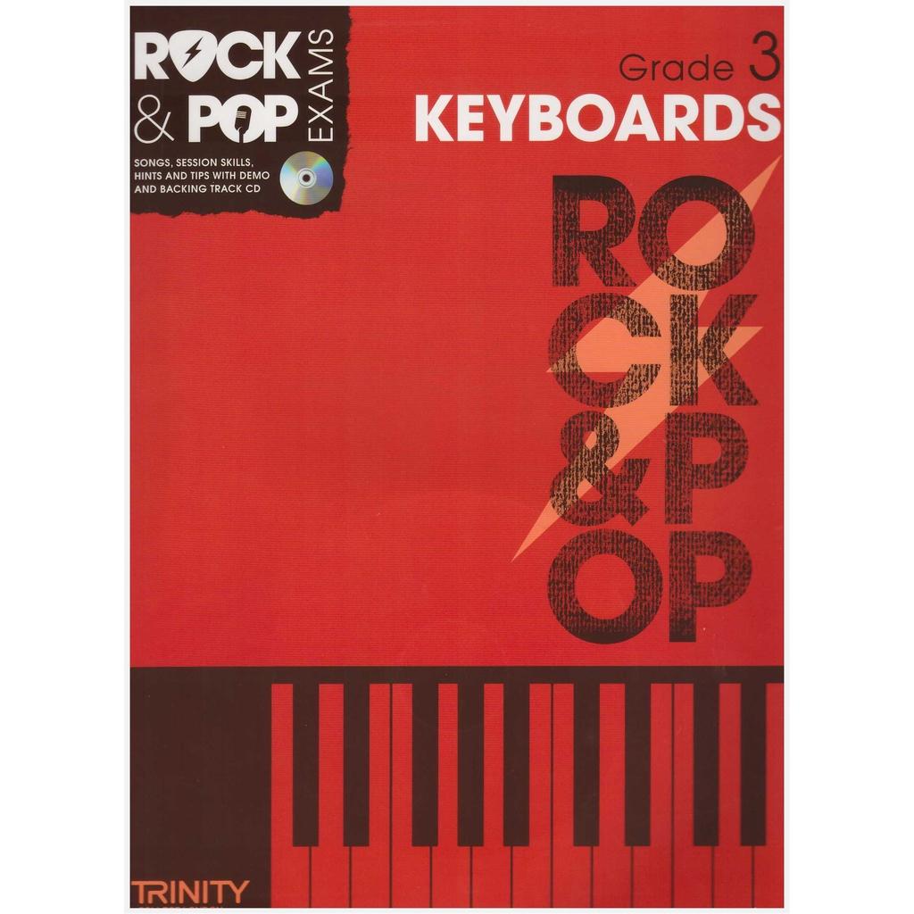 Trinity Rock & Pop Keyboard Exam Grade 3 (2012-2017) / Keyboard Book / Practical Book