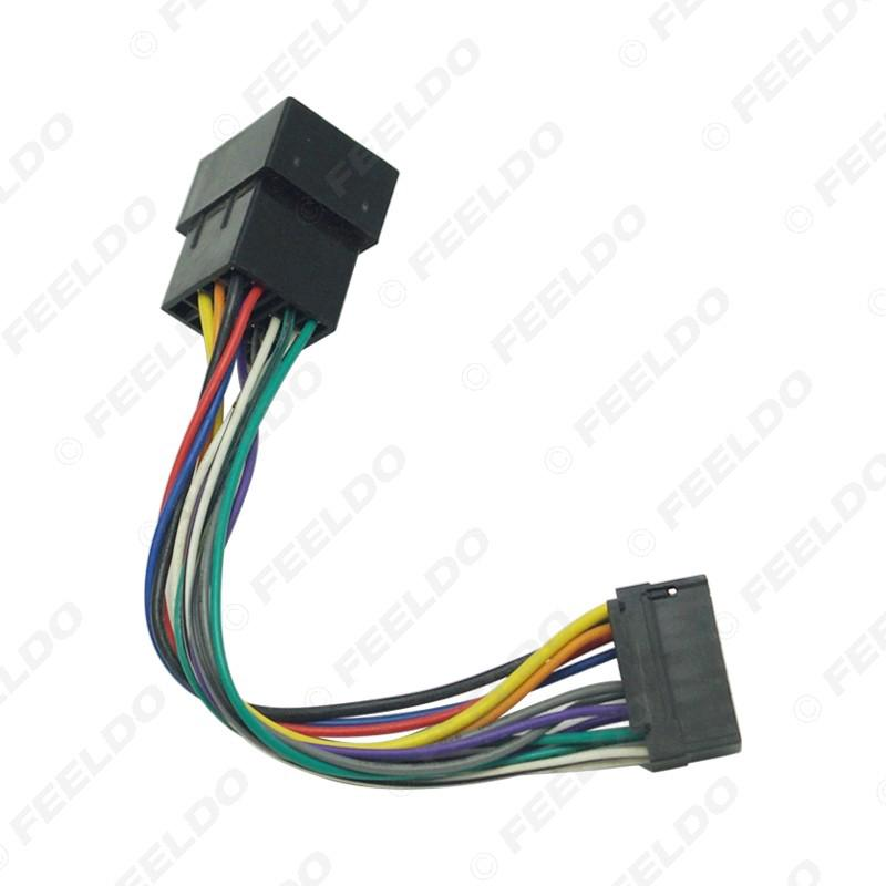 Car Stereo Radio Wire Harness Adapter For Sony 16