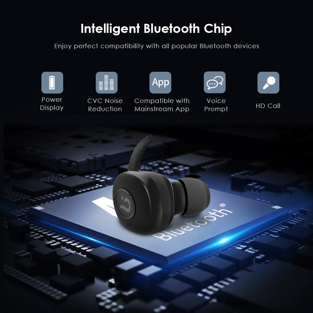 2dc3451ef4b BOROFONE BE8 Bluetooth 4.1 TWS True Wireless Earbuds | Shopee Malaysia