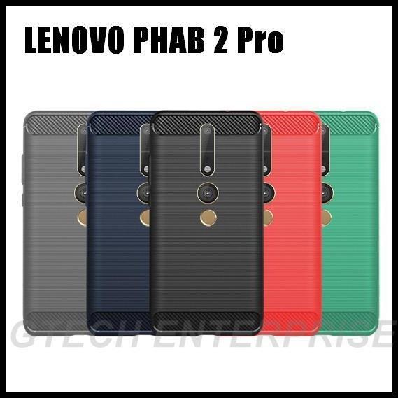 Lenovo PHAB 2 Pro PB2 690M N Shockproof Armor Carbon TPU Case Cover | Shopee Malaysia