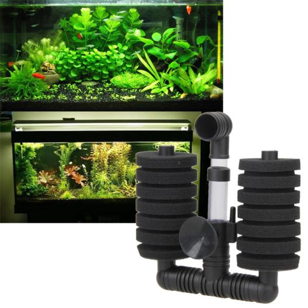 Aquarium Filter Fish Tank Air Pump Biochemical Sponge Filter Aquarium  Filtration Aquatic Products