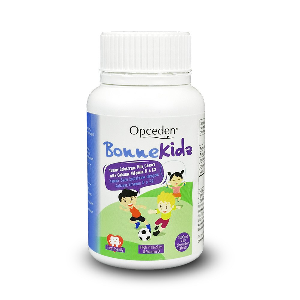 (Value Bundle) 1 Box of Opceden Toco-Enols with 60 Softgels + 1 Box of Opceden Kids Bonnekidz with 60 Chewable Tablets