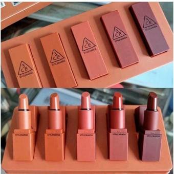 Nude - 3 Versions Ce Mood Lip Color Mini Kit Recipe 3ce Nude - Lip Stick