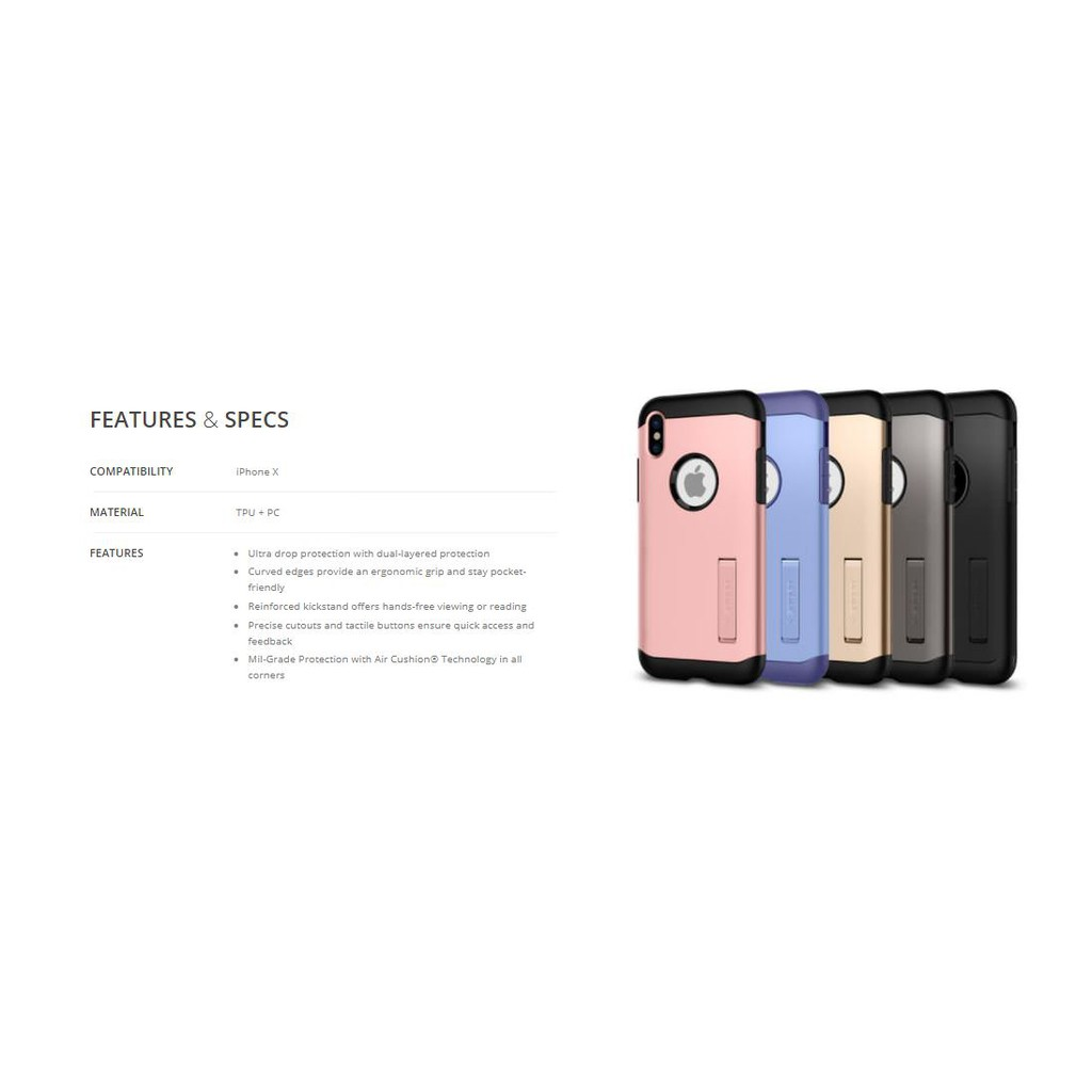 Iphone X Spigen Neo Hybrid Ready Stock Shopee Malaysia Case Xr Modern Dual Layer Frame Design Casing Gunmetal